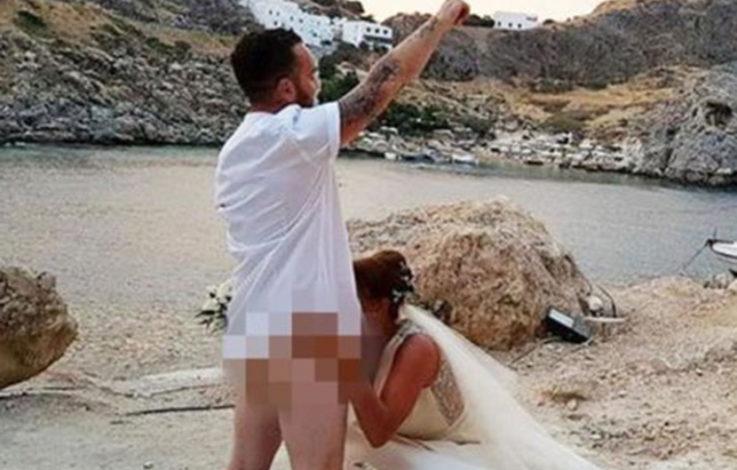 Reue für Hochzeits-Blowjob