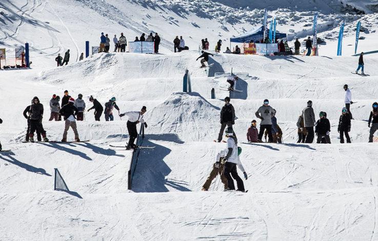 Kaunertal: Opening läutete Snowpark-Saison ein