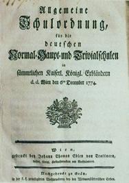 1774.Allgemeine.Schulordnung.Johann.Thomas.Edler.von.Trattnern