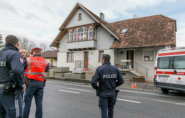 Toter nach Polizeieinsatz in Lauterach