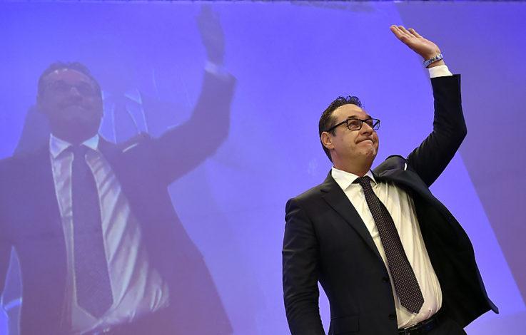 Strache mit 99,12 Prozent als Wiener Parteichef bestätigt