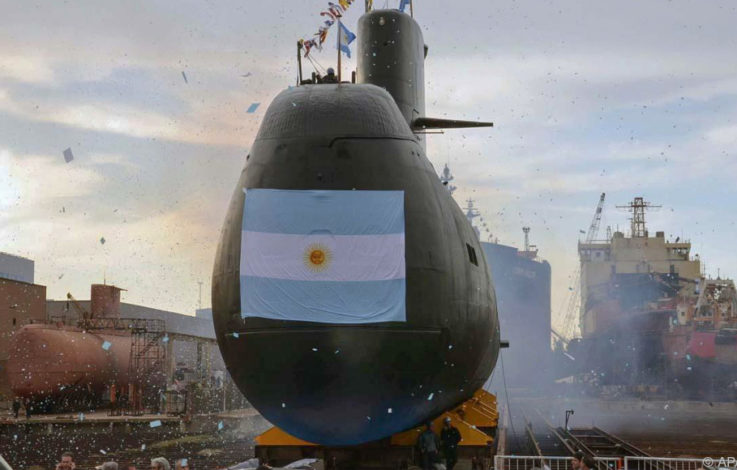 Internationale Suchaktion nach verschollenem U-Boot