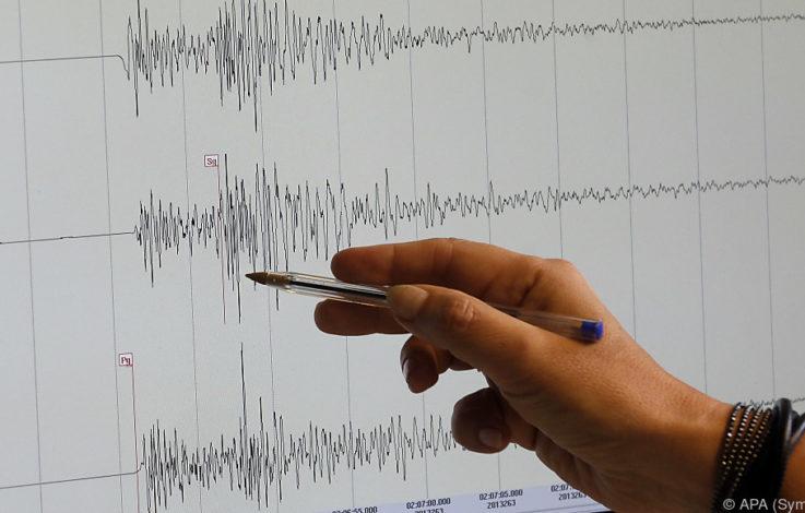 Erdbeben im Raum von Parma und bei Neukaledonien