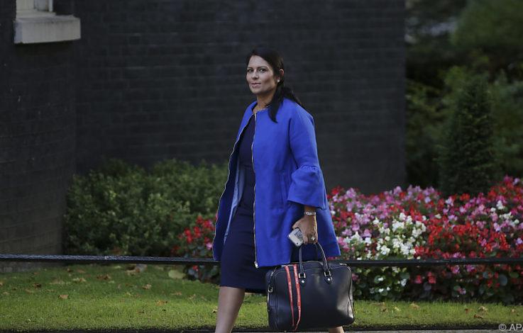Britische Entwicklungsministerin Priti Patel zurückgetreten