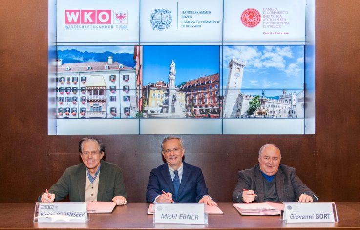 Euregio-Kammern unterzeichnen Vereinbarung zur Zusammenarbeit