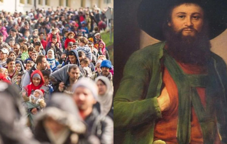 Andreas Hofer e i migranti