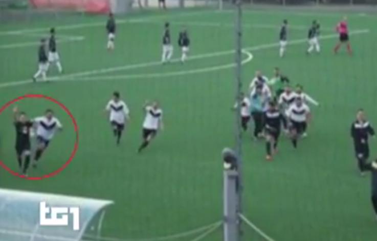 Italienischer Fußballer schockt mit Faschisten-Gruß – VIDEO