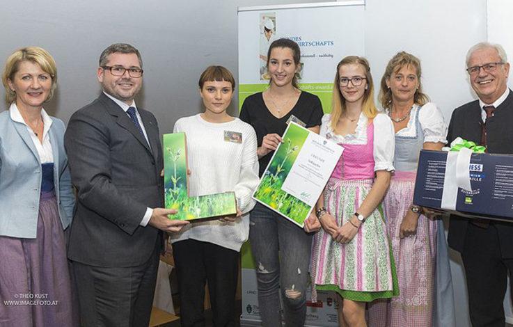 Junge Talente beim Bundes-Hauswirtschafts-Award geehrt