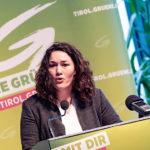 Ingrid Felipe führt Grüne in Tiroler Landtagswahl