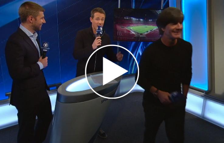 Jogi Löw wird aus TV-Studio geworfen – VIDEO