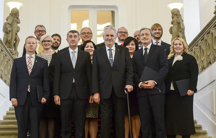 Neue Regierung in Tschechien steht