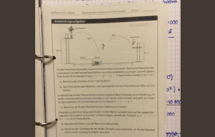 Mathe-Aufgabe begeistert das Internet