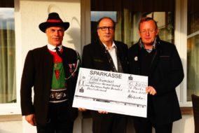Spendenbergabe AHB Deutschland an SHB
