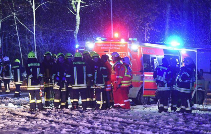 Drei Tote bei Flugzeugabsturz am Bodensee