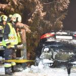 Pustertal: Auto stürzt in Waldstück