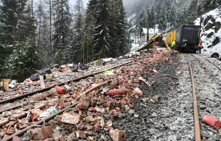 Wieder ein Zugunfall: Güterzug am Brenner entgleist - Strecke voll gesperrt
