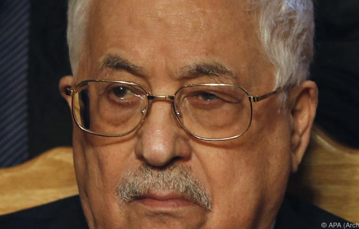 Abbas fordert EU zur Anerkennung eines Palästinenser-Staates auf