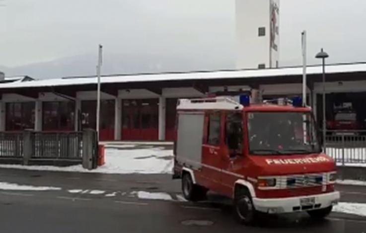 Bruneck: Feuerwehr rückt umsonst aus