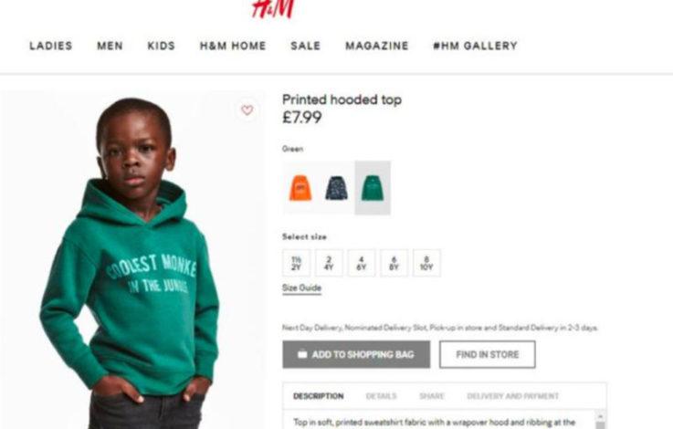 Kritik an H&M: Schwarzer Bub wirbt für