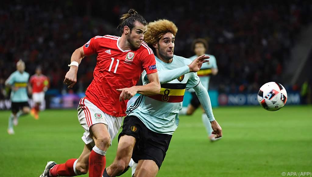 Belgien Gegen Wales