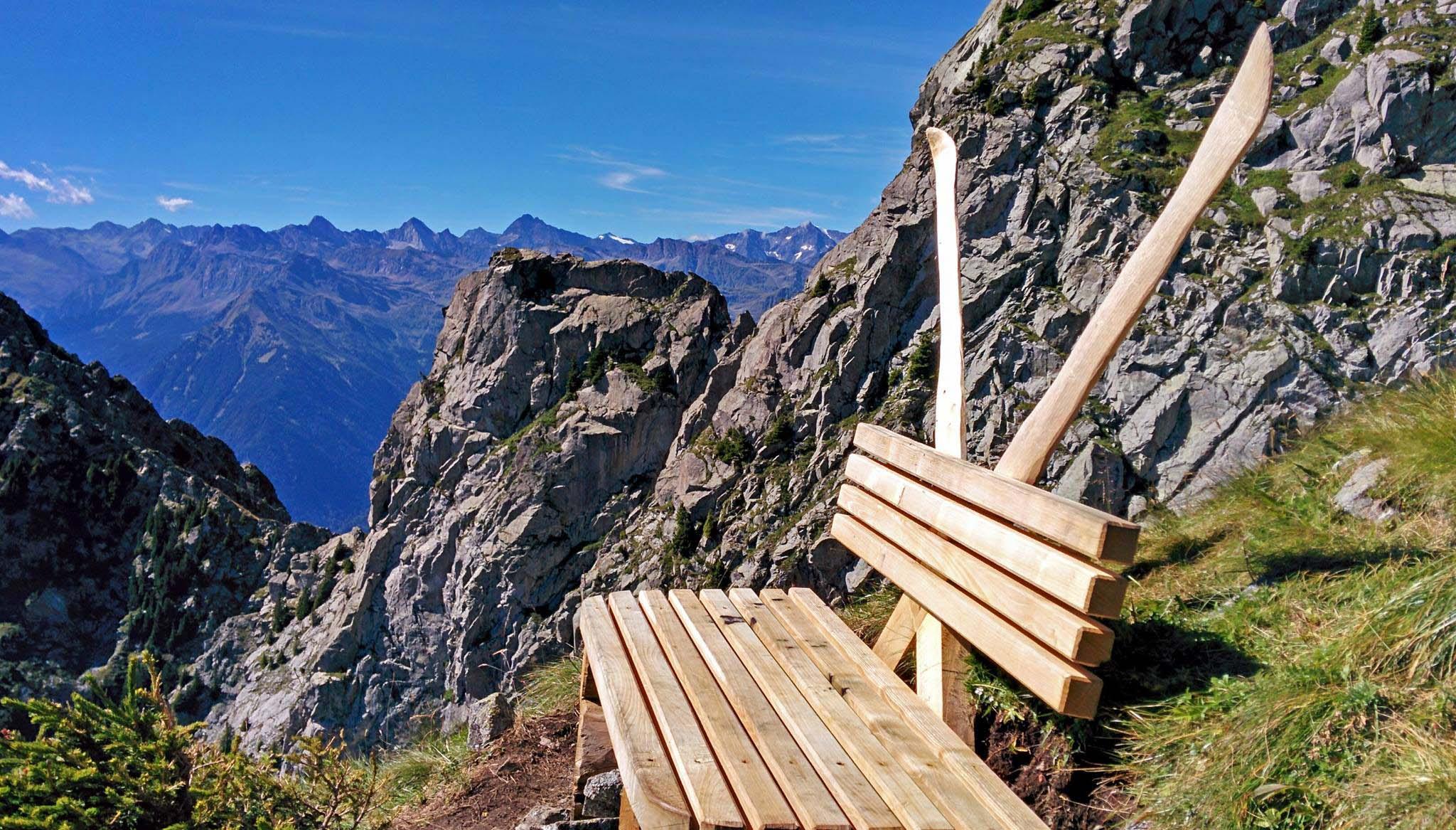 Klettersteig Ifinger : Der ut wandertipp Über den neuen klettersteig zum ifinger
