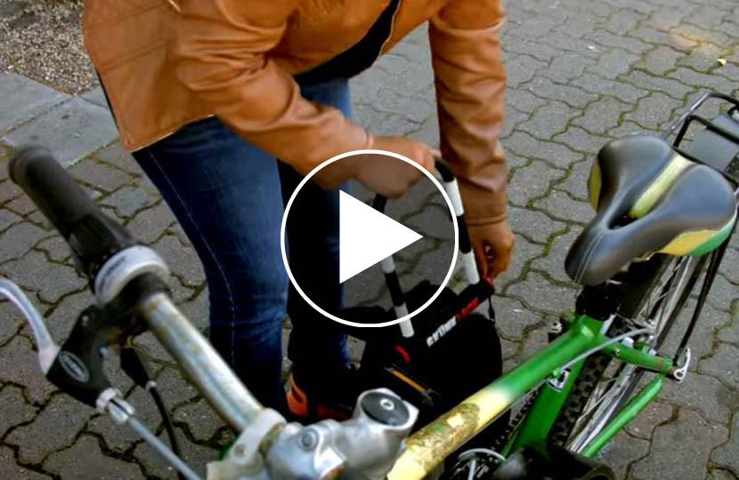 Dieses fahrradschloss verscheucht jeden dieb video unsertirol24 for Sicherheitsschloss knacken