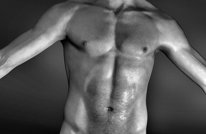Nackter Blog des reifen Mannes