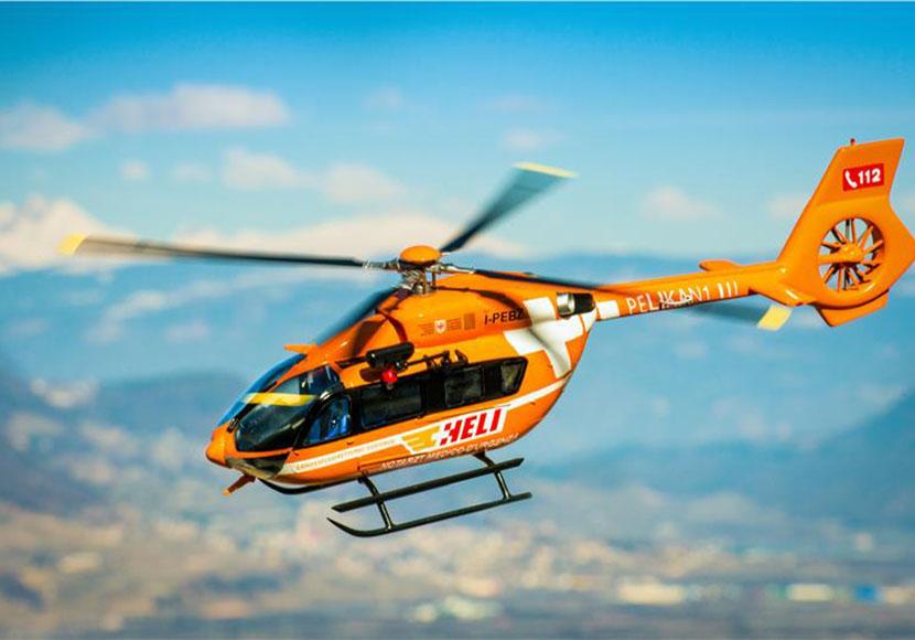 Pelikan 1 Elicottero : Unsertirol
