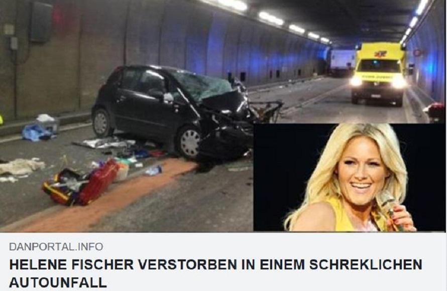 Ist Helene Fischer Tot