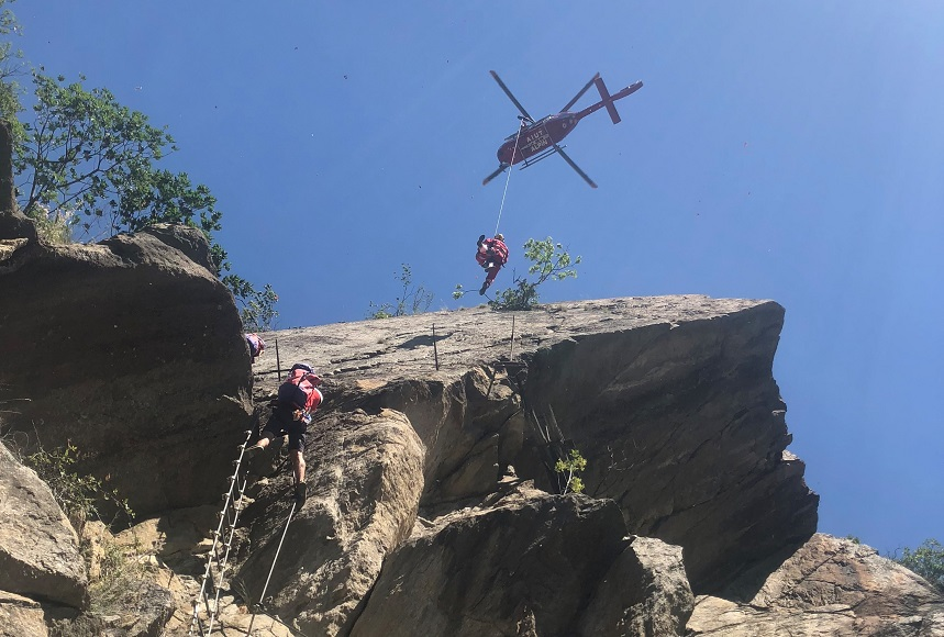 Klettersteig Naturns Knott : Bergrettung meran zu anspruchsvollen einsätzen gerufen unsertirol24