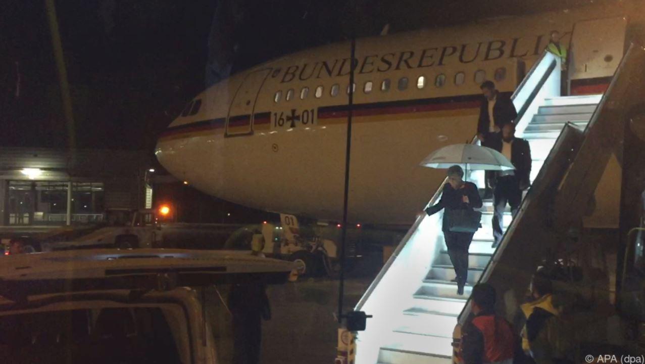 Angela Merkel Flugzeug
