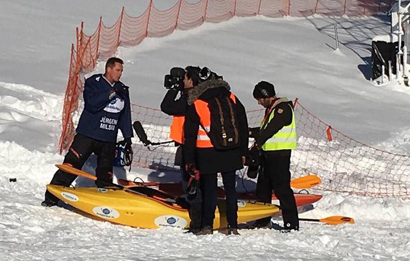 Jürgen Milski: Unfall beim Training für die