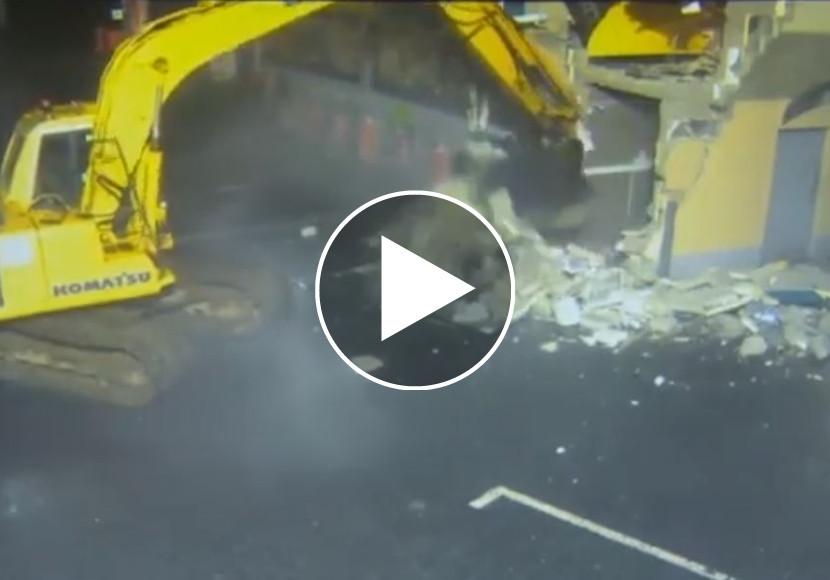 Diebstahl Mit Bagger Video Unsertirol24