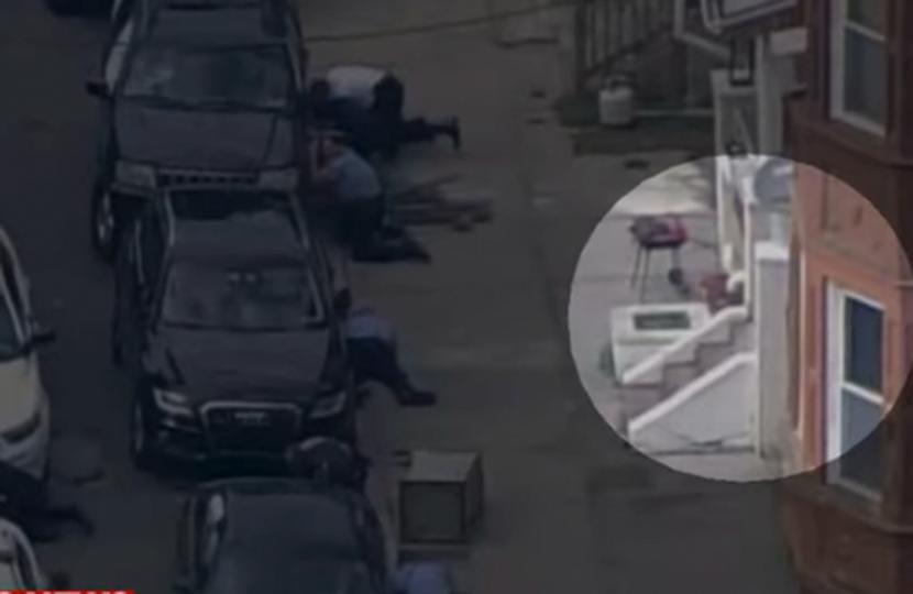 Mann verletzt bei Schusswechsel sechs Polizisten