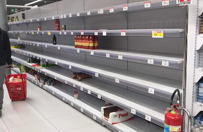 Supermarkt öffnungszeiten Corona