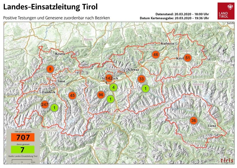 Coronavirus In Tirol Die Aktuellen Zahlen Vom Samstag Unsertirol24