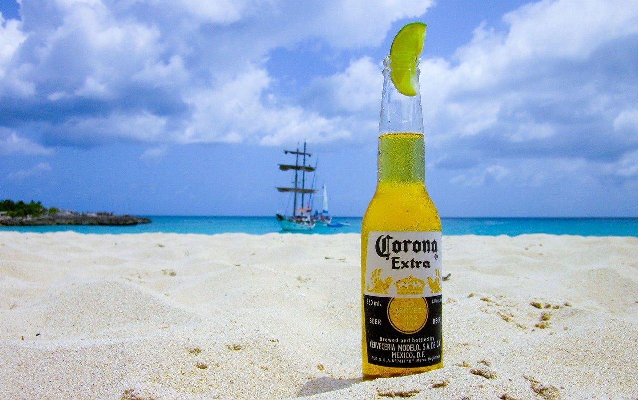 Absatz Corona Bier